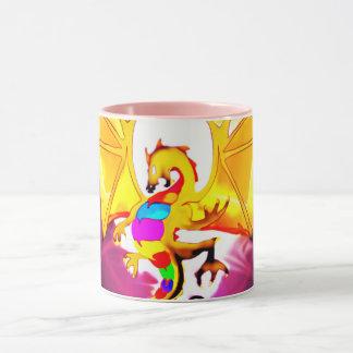 lucky dragon gem mug
