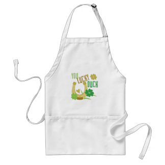 Lucky Duck Adult Apron