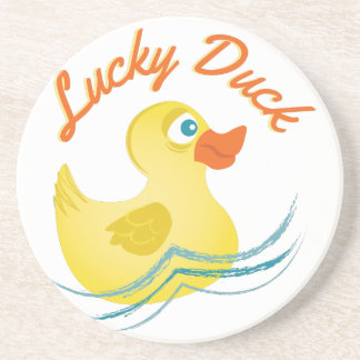 Lucky Duck Beverage Coasters