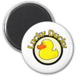 Lucky Ducky Fridge Magnet