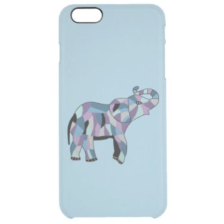 Lucky Elephant Clear iPhone 6 Plus Case