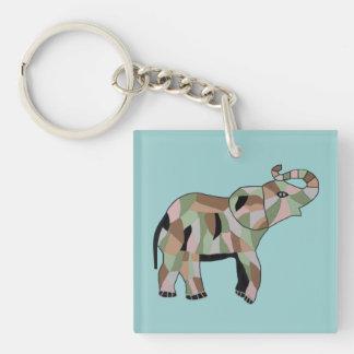 Lucky Elephant Keychain Acrylic Keychains