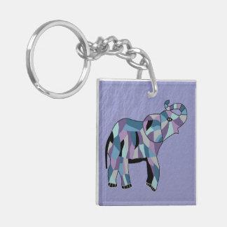 Lucky Elephant Keychain Acrylic Keychain