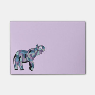 Lucky Elephant Post-it® Notes