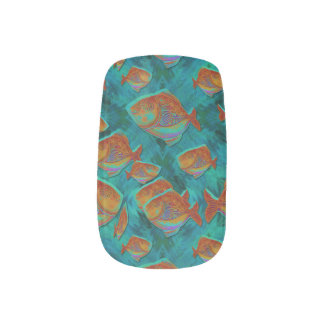 Lucky Fishing Minx Nail Art Decals