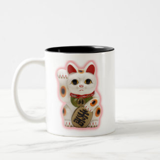 Lucky Fortune Cat Coffee Mug