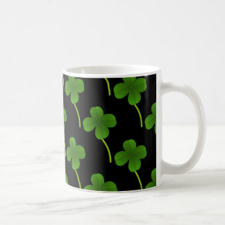 Lucky Four-Leaf Clovers Coffee Mug