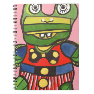 Lucky Frog Note Book