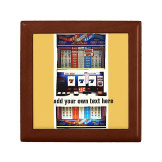 Lucky Gambler Slot Machine Gift Box