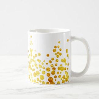 Lucky Gold Coins   White   Customized Color Basic White Mug