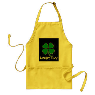 Lucky Guy Adult Apron