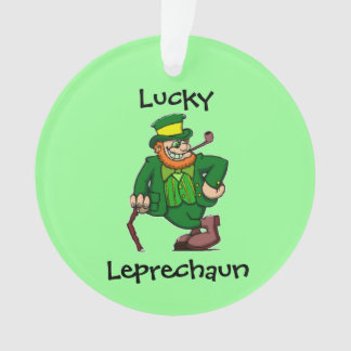 Lucky Happy Irish Leprechaun