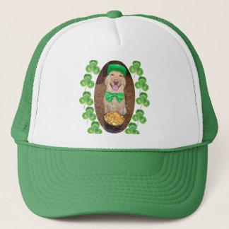 Lucky Happy Lab Trucker Hat