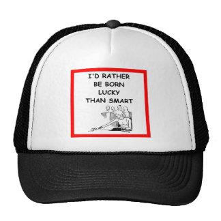 lucky trucker hats