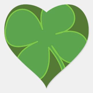 Lucky Heart Sticker