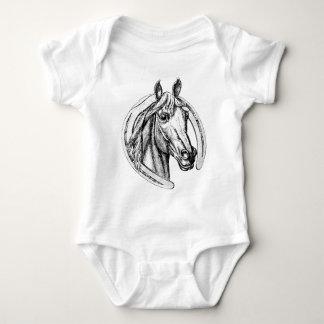 Lucky Horse Baby Bodysuit