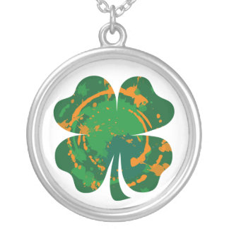 Lucky Ink Clover necklace