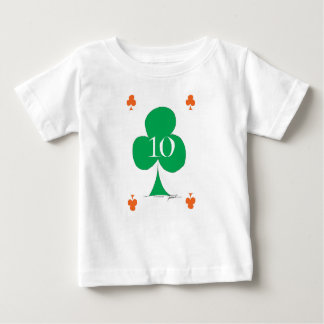 Lucky Irish 10 of Clubs, tony fernandes Baby T-Shirt