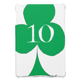Lucky Irish 10 of Clubs, tony fernandes iPad Mini Cover