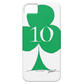 Lucky Irish 10 of Clubs, tony fernandes iPhone 5 Covers