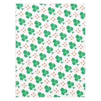 Lucky Irish 10 of Clubs, tony fernandes Tablecloth