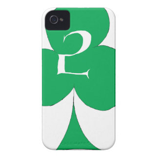 Lucky Irish 2 of Clubs, tony fernandes iPhone 4 Case-Mate Case