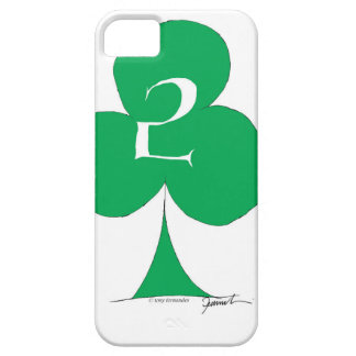 Lucky Irish 2 of Clubs, tony fernandes iPhone 5 Case