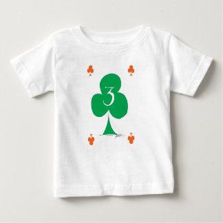 Lucky Irish 3 of Clubs, tony fernandes Baby T-Shirt