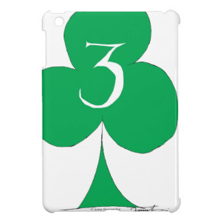 Lucky Irish 3 of Clubs, tony fernandes iPad Mini Case