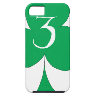 Lucky Irish 3 of Clubs, tony fernandes iPhone 5 Covers
