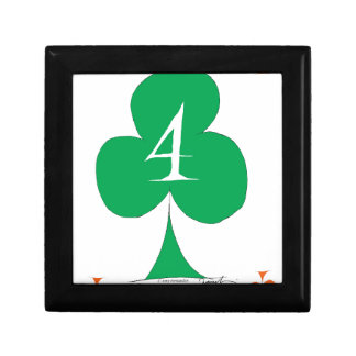 Lucky Irish 4 of Clubs, tony fernandes Gift Box