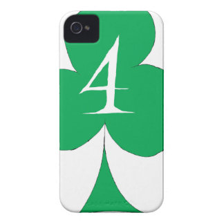 Lucky Irish 4 of Clubs, tony fernandes iPhone 4 Covers