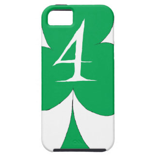 Lucky Irish 4 of Clubs, tony fernandes iPhone 5 Case