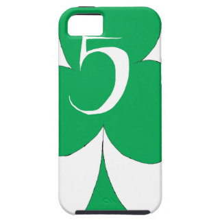 Lucky Irish 5 of Clubs, tony fernandes iPhone 5 Cover