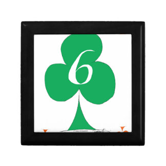 Lucky Irish 6 of Clubs, tony fernandes Gift Box