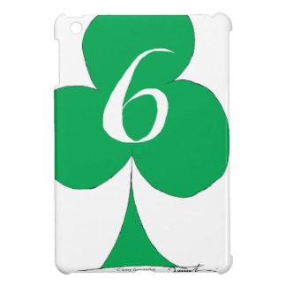 Lucky Irish 6 of Clubs, tony fernandes iPad Mini Cover