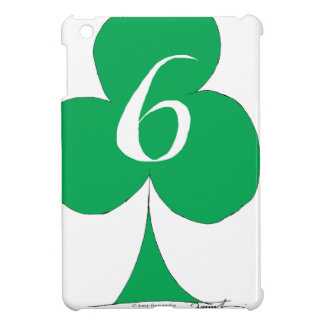 Lucky Irish 6 of Clubs, tony fernandes iPad Mini Cover