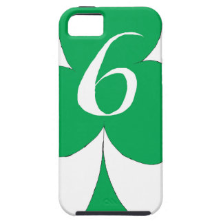 Lucky Irish 6 of Clubs, tony fernandes iPhone 5 Case