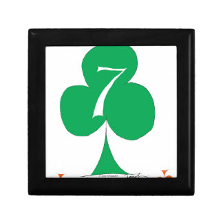 Lucky Irish 7 of Clubs, tony fernandes Gift Box