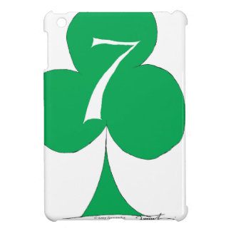 Lucky Irish 7 of Clubs, tony fernandes iPad Mini Case