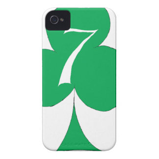 Lucky Irish 7 of Clubs, tony fernandes iPhone 4 Cases