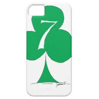 Lucky Irish 7 of Clubs, tony fernandes iPhone 5 Cover