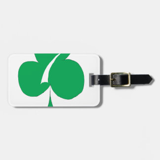 Lucky Irish 7 of Clubs, tony fernandes Luggage Tag