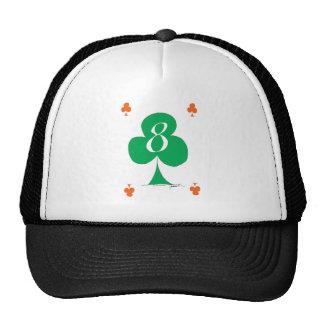 Lucky Irish 8 of Clubs, tony fernandes Cap