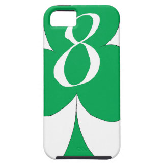 Lucky Irish 8 of Clubs, tony fernandes iPhone 5 Cases