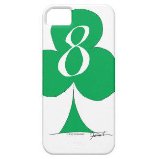Lucky Irish 8 of Clubs, tony fernandes iPhone 5 Covers
