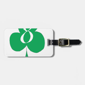 Lucky Irish 8 of Clubs, tony fernandes Luggage Tag