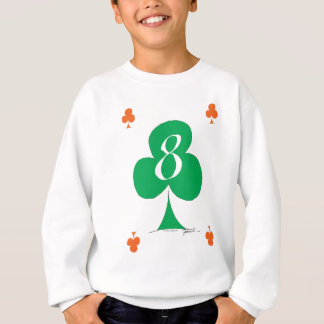 Lucky Irish 8 of Clubs, tony fernandes Sweatshirt