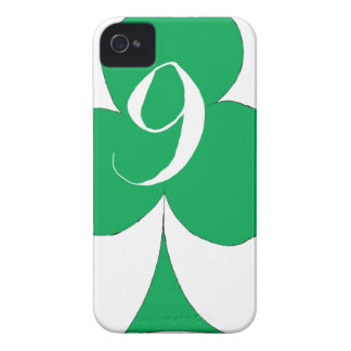 Lucky Irish 9 of Clubs, tony fernandes iPhone 4 Cover