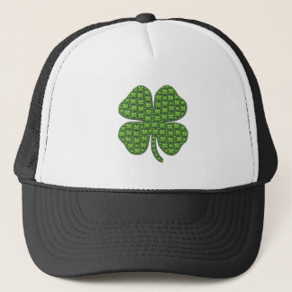 Lucky Irish Clover Trucker Hat